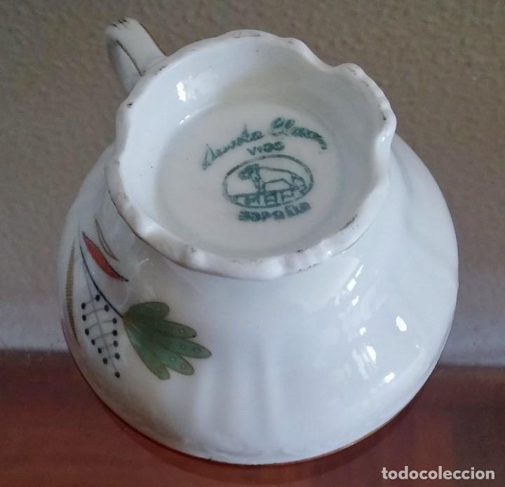 Antigüedades: Juego de Café porcelana Santa clara - 5 servicios - Ref. 776 - Foto 16 - 94407410