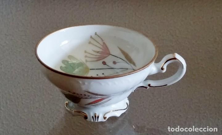 Antigüedades: Juego de Café porcelana Santa clara - 5 servicios - Ref. 776 - Foto 18 - 94407410