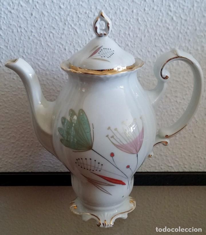 Antigüedades: Juego de Café porcelana Santa clara - 5 servicios - Ref. 776 - Foto 23 - 94407410