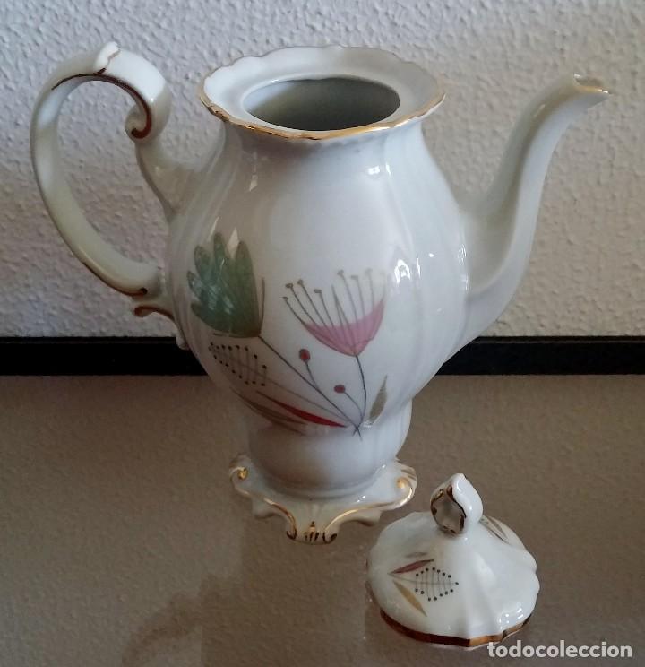 Antigüedades: Juego de Café porcelana Santa clara - 5 servicios - Ref. 776 - Foto 24 - 94407410