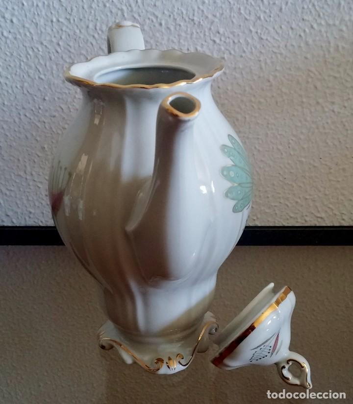 Antigüedades: Juego de Café porcelana Santa clara - 5 servicios - Ref. 776 - Foto 29 - 94407410