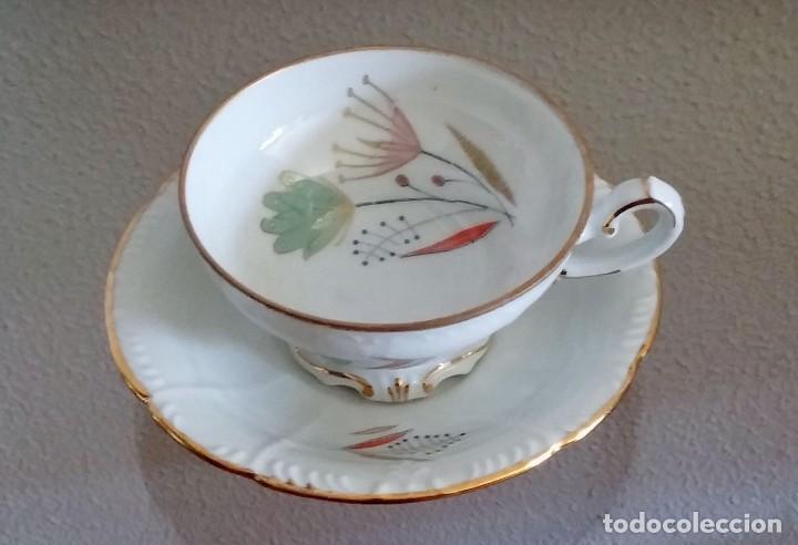 Antigüedades: Juego de Café porcelana Santa clara - 5 servicios - Ref. 776 - Foto 32 - 94407410
