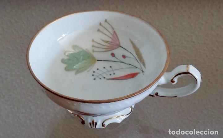 Antigüedades: Juego de Café porcelana Santa clara - 5 servicios - Ref. 776 - Foto 35 - 94407410