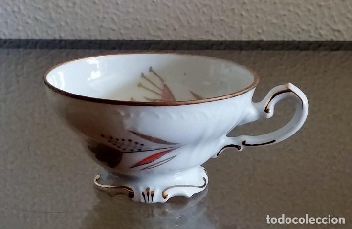 Antigüedades: Juego de Café porcelana Santa clara - 5 servicios - Ref. 776 - Foto 36 - 94407410