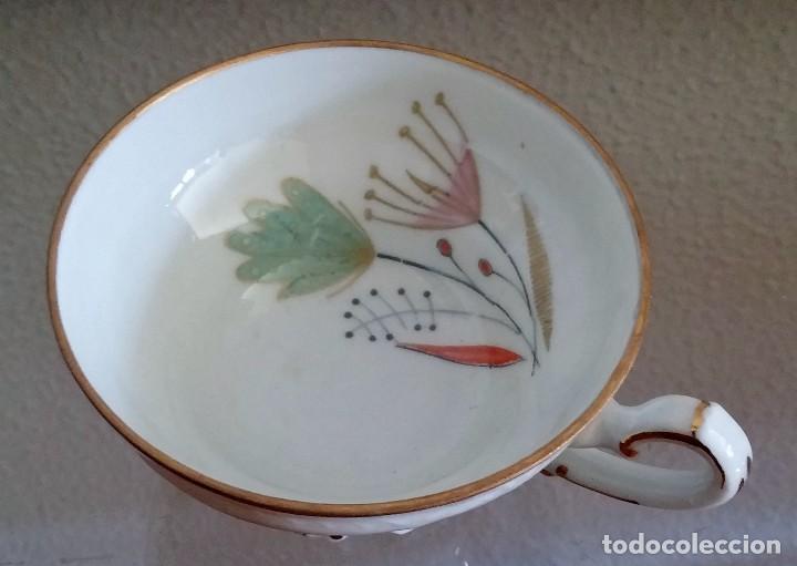 Antigüedades: Juego de Café porcelana Santa clara - 5 servicios - Ref. 776 - Foto 38 - 94407410