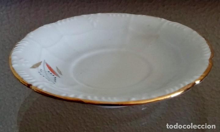 Antigüedades: Juego de Café porcelana Santa clara - 5 servicios - Ref. 776 - Foto 40 - 94407410