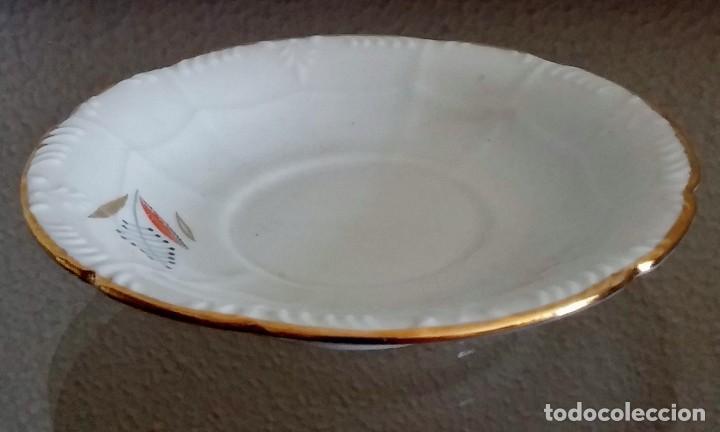 Antigüedades: Juego de Café porcelana Santa clara - 5 servicios - Ref. 776 - Foto 41 - 94407410