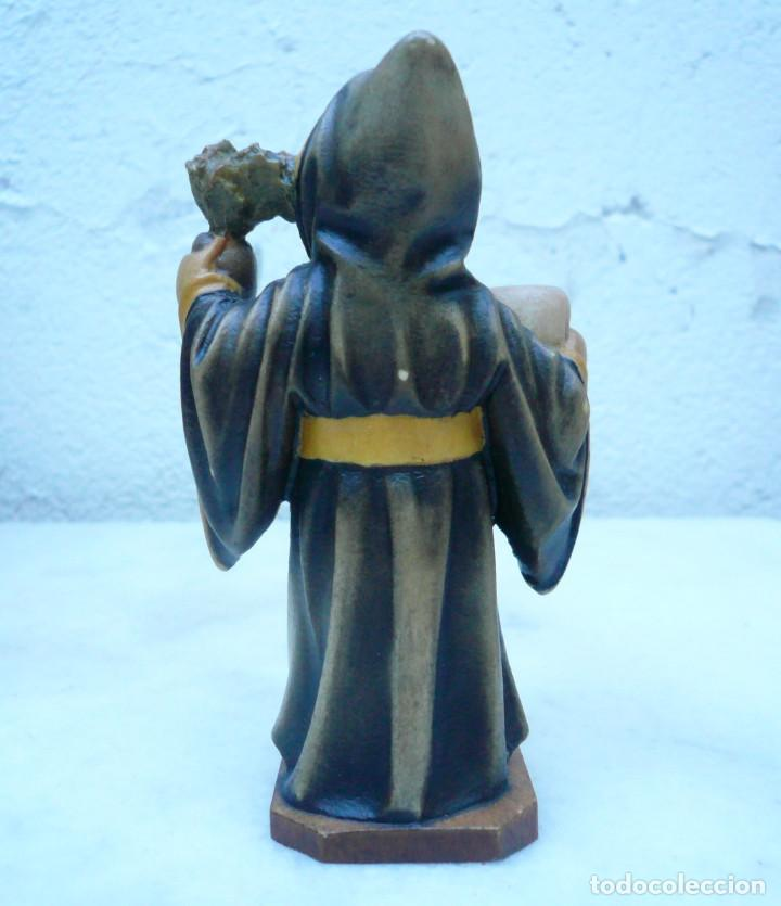 Antigüedades: NIÑO DE MUNICH - MÜNCHNER KINDL. TALLA DE LA CASA LEPI - Foto 2 - 94417570