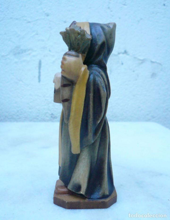 Antigüedades: NIÑO DE MUNICH - MÜNCHNER KINDL. TALLA DE LA CASA LEPI - Foto 3 - 94417570
