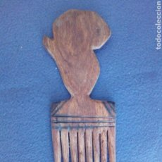 Antigüedades: PEINETA DE MADERA. Lote 94439680