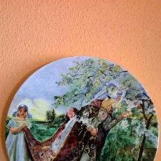 Antigüedades: PLATO DE MANISES ESTILO DECÓ. FIRMADO Y FECHADO (A. AGUSTÍ). Lote 94443374