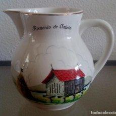 Antigüedades: JARRA DE PORCELANA - SAN CLAUDIO - RECUERDO DE GALICIA - REF. 790. Lote 94453422