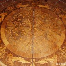 Antigüedades: ANTIGUA MESA ISABELINA CON MUCHA MARQUETERIA. ORIGINAL DE LA EPOCA, UNA JOYA. MAXIMA CALIDAD.. Lote 94454254
