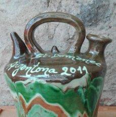 Antigüedades: BOTIJO DE LA FERIA DE SANT DOMÈNEC 2011 ARGENTONA BARCELONA. Lote 94467390