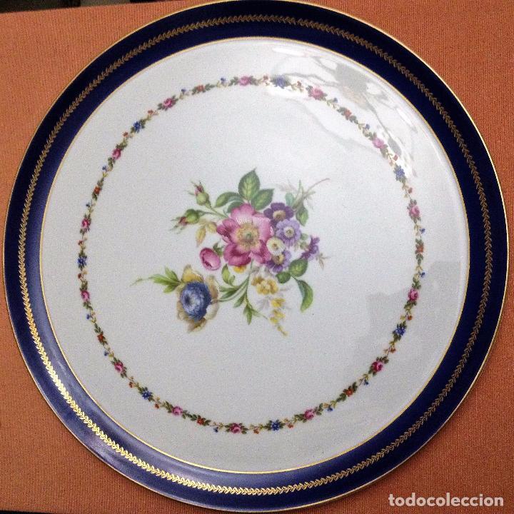 Antigüedades: Fuente pintada de porcelana de Limoges - Foto 5 - 94527818
