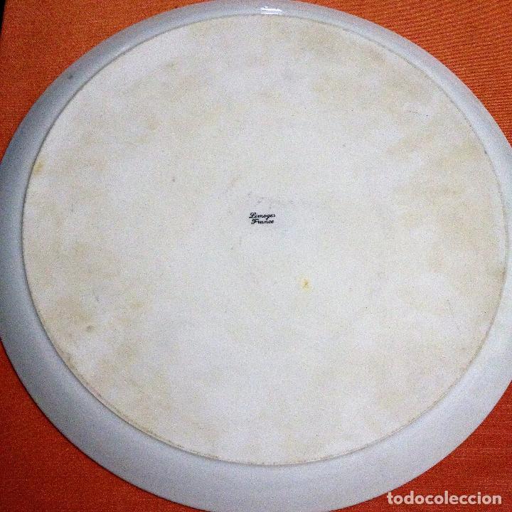 Antigüedades: Fuente pintada de porcelana de Limoges - Foto 9 - 94527818