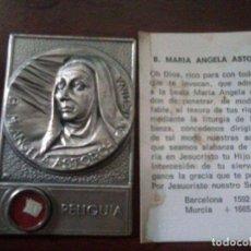 Antigüedades: RELIQUIA BEATA. MARIA ANGELA ASTORCH SIGLO 17. Lote 94535718