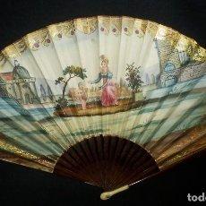 Antigüedades: PRECIOSO ABANICO CRISTINO CA 1820-30. Lote 94570495
