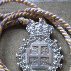Antigüedades: MEDALLA CON CORDON DE LA REAL COFRADIA DE NTRO PADRE JESUS DE LA HUMILDAD - VELEZ MALAGA. Lote 94587975