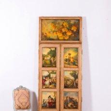 Antigüedades: ANTIGUO ESPEJO GOYA. Lote 94595823
