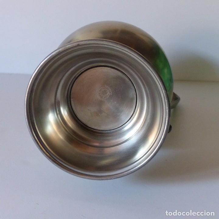 Antigüedades: Antigua JARRA GRANDE DE ESTAÑO con 35 cm !!!! - Foto 4 - 94599259
