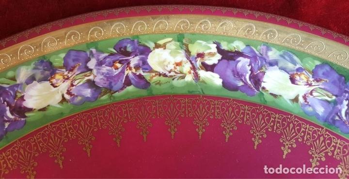 Antigüedades: PLATO DE PORCELANA. ROYAL VIENA. ESMALTADO. MARCA EN LA BASE. SIGLO XIX-XX. - Foto 3 - 94634315