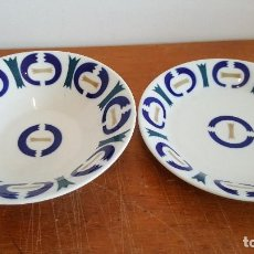 Antigüedades: 2 PLATOS DE SARGADELOS. PRECIOSOS.. Lote 94668555