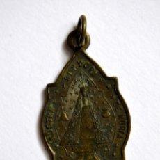 Antigüedades: ANTIGUA MEDALLA NUESTRA SEÑORA DE NURIA * SAN GIL ABAD. Lote 94676391