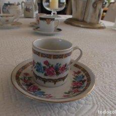 Antigüedades: ANTIGUA TACITA CAFÉ JAPON FIRMADA SIGLO PP´SIGLO XX PINTADA A MANO . Lote 94679227