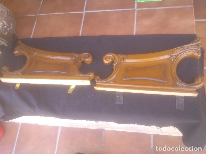 COPETE O REMATE DE CAMA, (Antigüedades - Muebles Antiguos - Camas Antiguas)