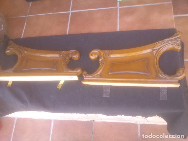 Antigüedades: COPETE O REMATE DE CAMA, - Foto 2 - 94698547