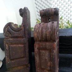 Antigüedades: MÉNSULAS ANTIGUAS, SVII DE IMPORTANTE CASA SEVILLANA. Lote 94711699