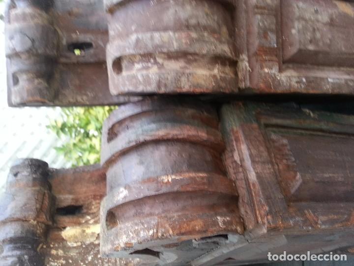 Antigüedades: Ménsulas antiguas, SXVII de importante casa sevillana - Foto 3 - 94711699