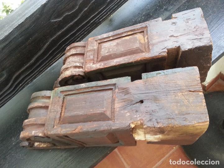 Antigüedades: Ménsulas antiguas, SXVII de importante casa sevillana - Foto 7 - 94711699