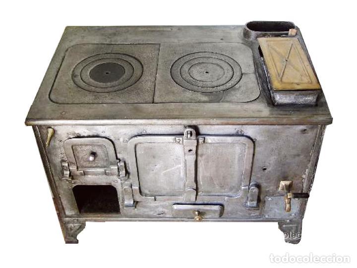 Excepcional antigua cocina economica de hierro comprar for Cocinas economicas de lena antiguas