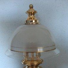 Antigüedades: BONITO QUINQUE LAMPARA SOBREMESA AÑOS 80 VER FOTOS. Lote 94798063
