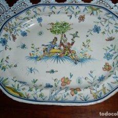 Antigüedades: LOZA ESPAÑOLA DE ALCORA POSTRIMERÍAS S. XVIII. Lote 94811339