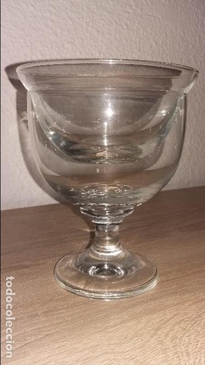 COPAS COCTEL MARISCO - CRISTAL (Antigüedades - Hogar y Decoración - Copas Antiguas)