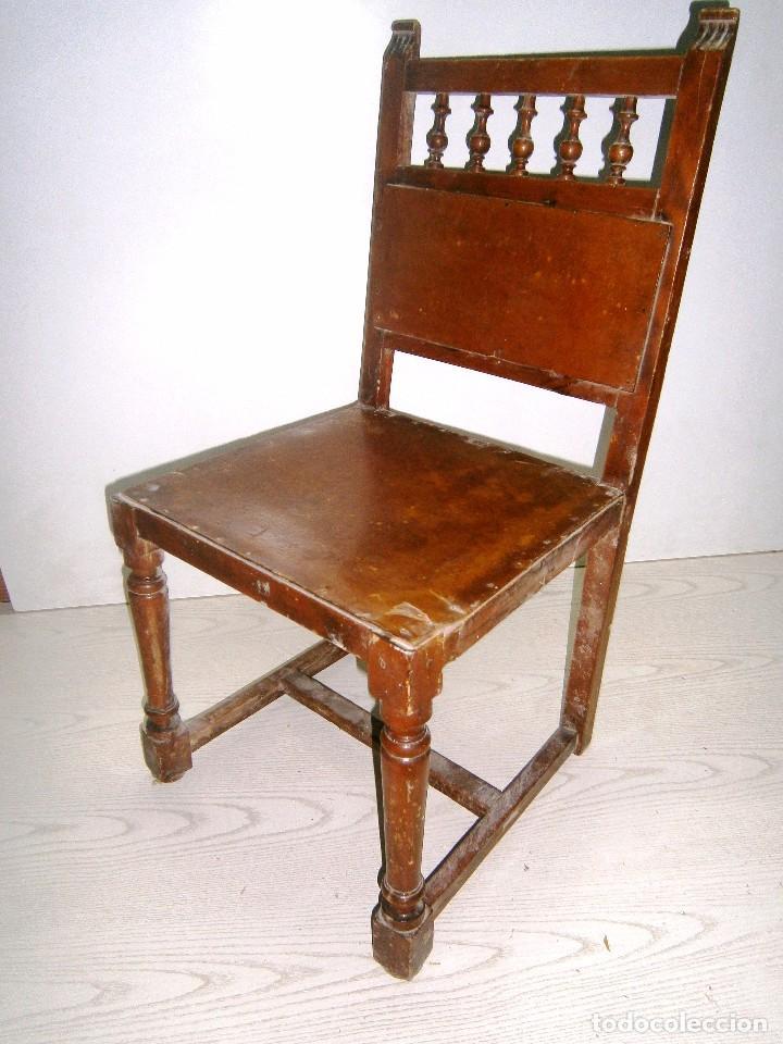 Peque a silla antigua de madera comprar sillas antiguas - Sillas antiguas de madera ...