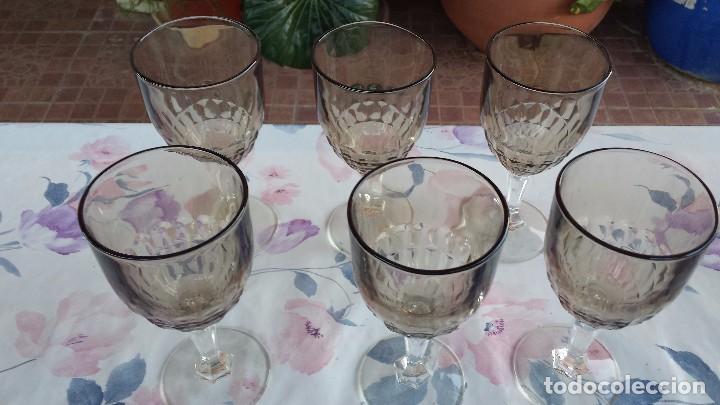 Antigüedades: juego de 6 copas - Foto 2 - 94819075