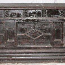 Antigüedades: ARCÓN CATALÁN. MADERA DE NOGAL. BARROCO. ESPAÑA. SIGLO XVIII.. Lote 94864687