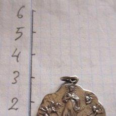 Antigüedades: MEDALLA EN PLATA O PLATEADA SAN CARLOS - CENTENARIOHIJAS DE MARIA 1855-1955. Lote 94867507