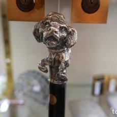 Antigüedades: ANTIGUO BASTON EN PLATA LEY MARCADO CON CONTRASTE 925/1000. Lote 94871827