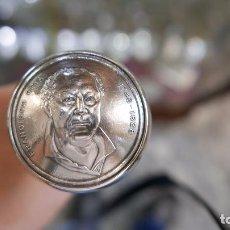 Antigüedades: ANTIGUO BASTON EN PLATA LEY MARCADO CON CONTRASTE 925/1000. Lote 94873435