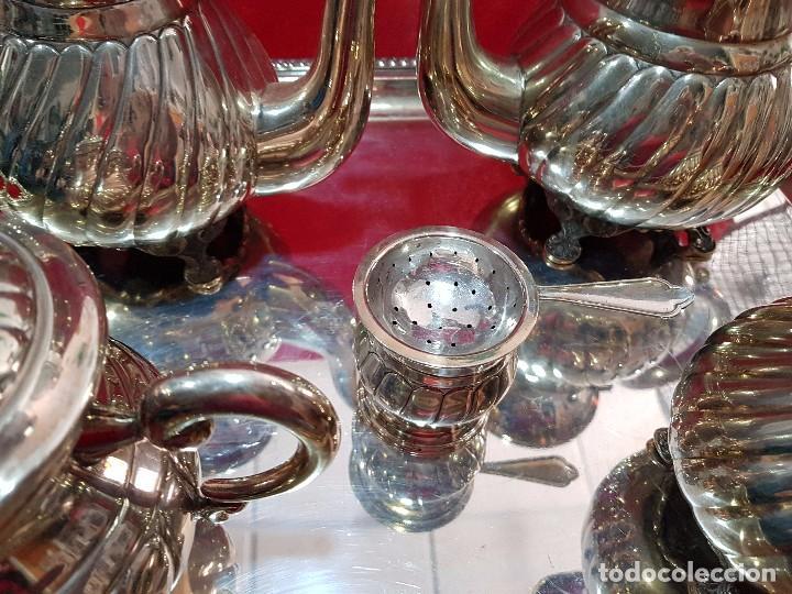 Antigüedades: PRECIOSO JUEGO DE PLATA - Foto 4 - 160099938