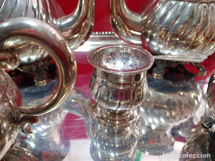 Antigüedades: PRECIOSO JUEGO DE PLATA - Foto 8 - 160099938