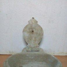 Antigüedades: MUY ANTIGUA PILA DE MARMOL. Lote 94902299