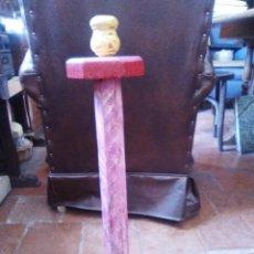Antigüedades: CANDELERO REHECHO.. Lote 94944731