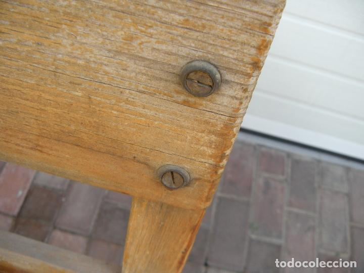 Antigüedades: ANTIGUO BANCO DE 3 PLAZAS - Foto 3 - 94962179
