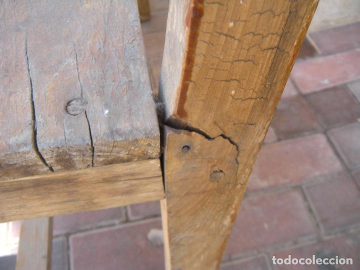 Antigüedades: ANTIGUO BANCO DE 3 PLAZAS - Foto 4 - 94962179